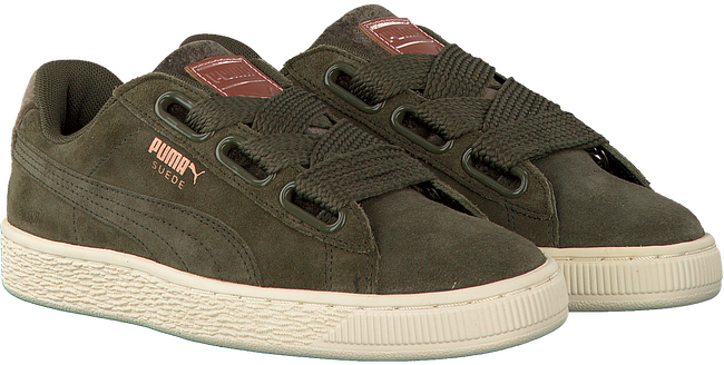PUMA SNEAKERS SUEDE HEART VR DAMES - large