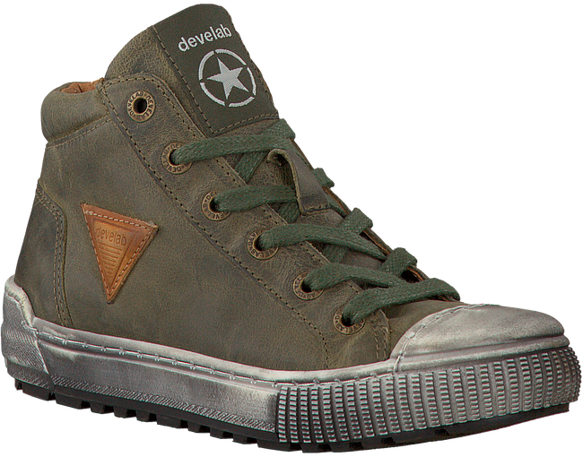 Groene DEVELAB Sneakers 43007  - large