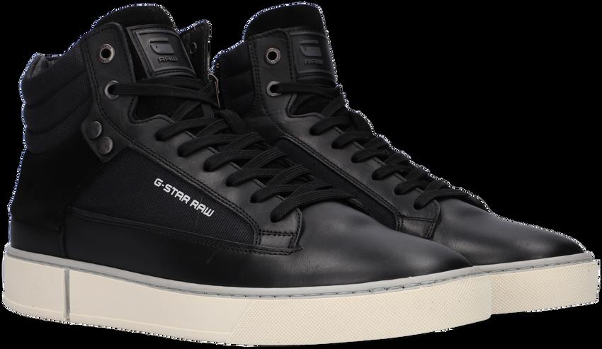 Zwarte G-STAR RAW Hoge sneaker RAVOND MID BSC M  - larger