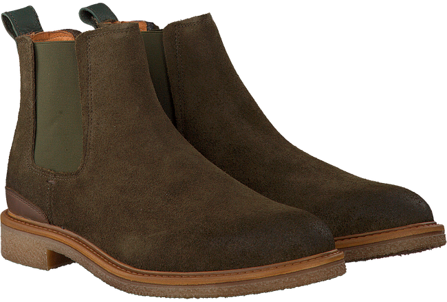 Groene OMODA Chelsea boots MRINO612  - large