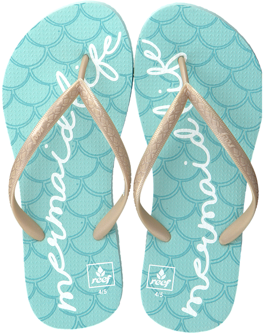 Blauwe REEF Slippers LITTLE REEF ESCAPE - large