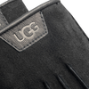 Zwarte UGG Handschoenen CASUAL GLOVE WITH LEATHER LOGO - small