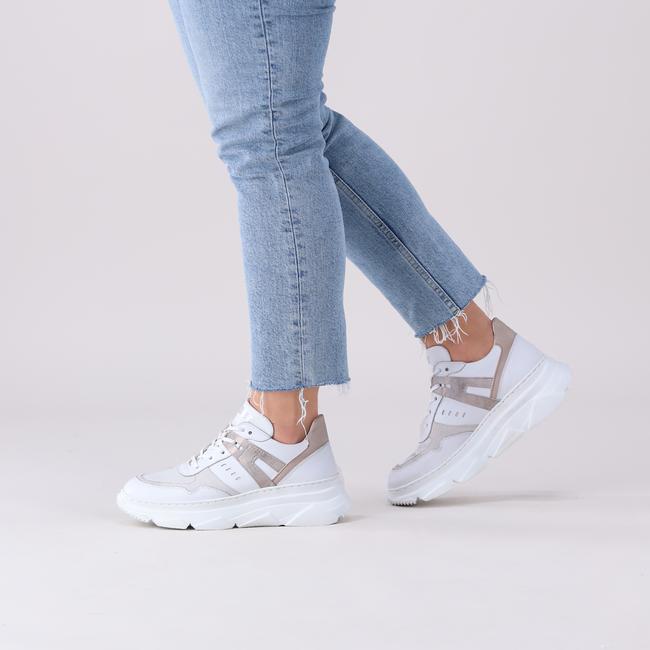 Witte PIEDI NUDI Sneakers M42104  - large