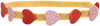 Roze LE BIG Haarband SOUMAYA HEADBAND  - small
