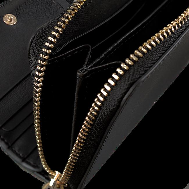 Zwarte CALVIN KLEIN Portemonnee FRAME MEDIUM ZIP - large