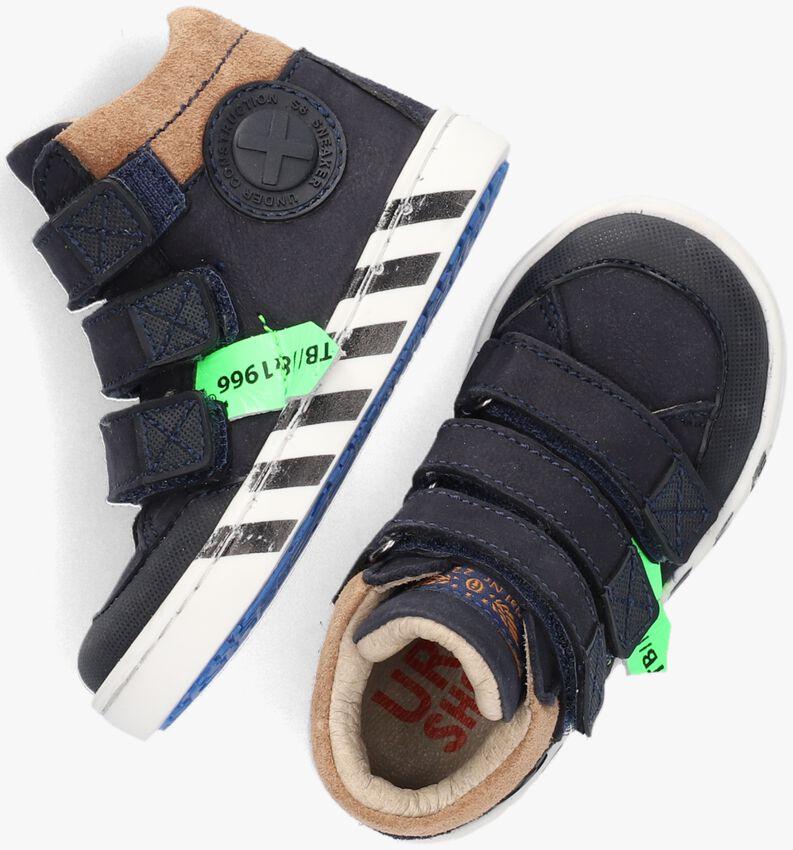 Blauwe SHOESME Hoge sneaker UR21W043  - larger