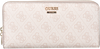 Beige GUESS Portemonnee DOWNTOWN COOL SLG - small