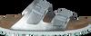 Zilveren BIRKENSTOCK PAPILLIO Slippers ARIZONA DAMES  - small