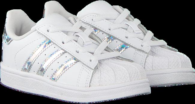 Witte ADIDAS Sneakers SUPERSTAR EL I  - large