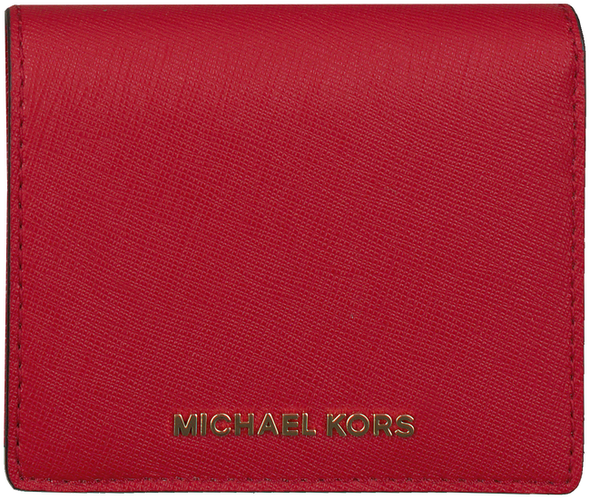 Rode MICHAEL KORS Portemonnee FLAP CARD HOLDER - large