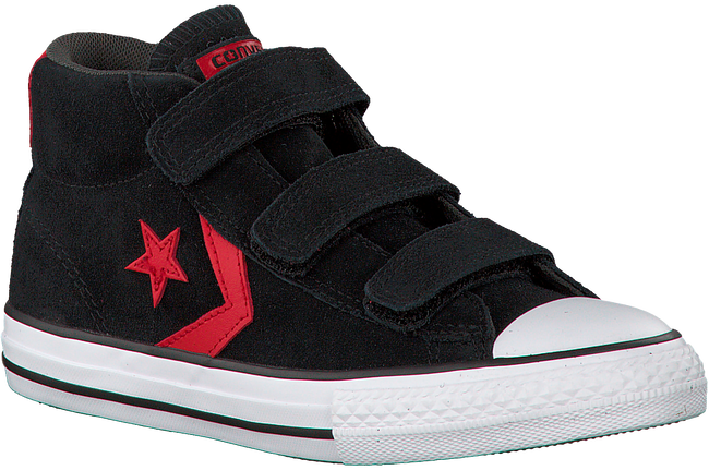 Zwarte CONVERSE Sneakers STAR PLAYER 3V MID  - large