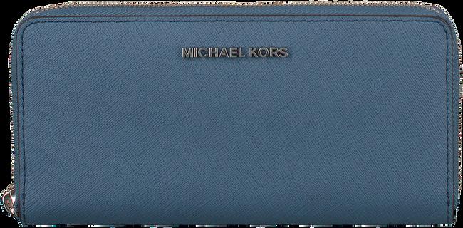 Blauwe MICHAEL KORS Portemonnee ZA CONTINENTAL - large