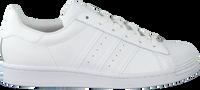 Witte ADIDAS Lage sneakers SUPERSTAR DAMES  - medium