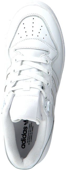 Witte ADIDAS Lage sneakers RIVALRY LOW W  - large