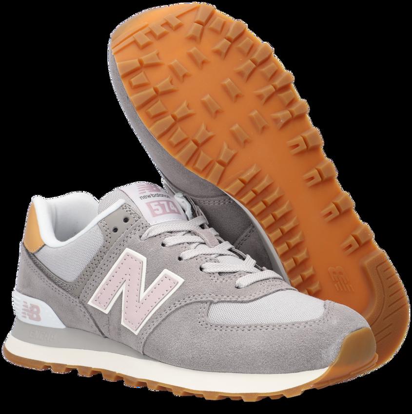 Grijze NEW BALANCE Lage sneakers WL574  - larger