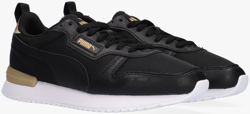 Zwarte PUMA Lage sneakers PUMA R78 WNS METALLIC POP  - larger