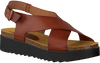 Cognac RED-RAG Sandalen 78052 - small