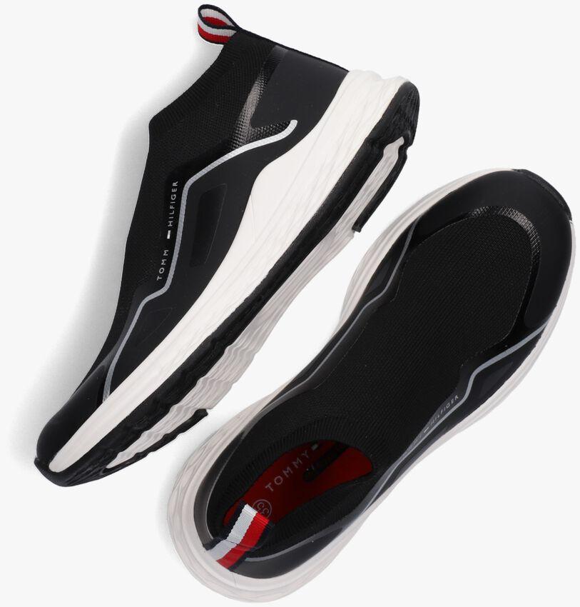 Zwarte TOMMY HILFIGER Hoge sneaker 32083  - larger