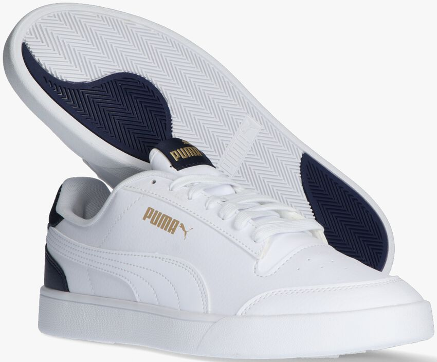 Witte PUMA Lage sneakers SHUFFLE - larger