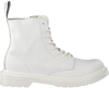 Witte DR MARTENS Veterboots 1460 PASCAL MONO K  - small