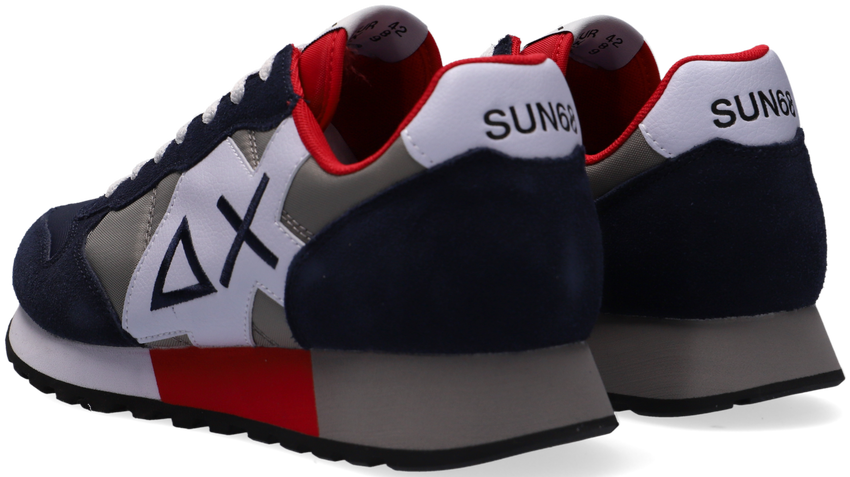 Blauwe SUN68 Lage sneakers JAKI BICOLOR  - larger