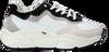 Witte HUB Lage sneakers ROCK-W - small