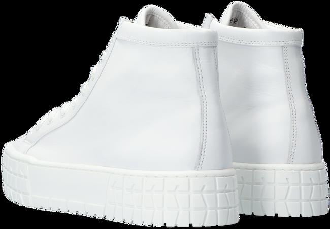 Witte HIP DONNA Hoge sneaker D1923  - large