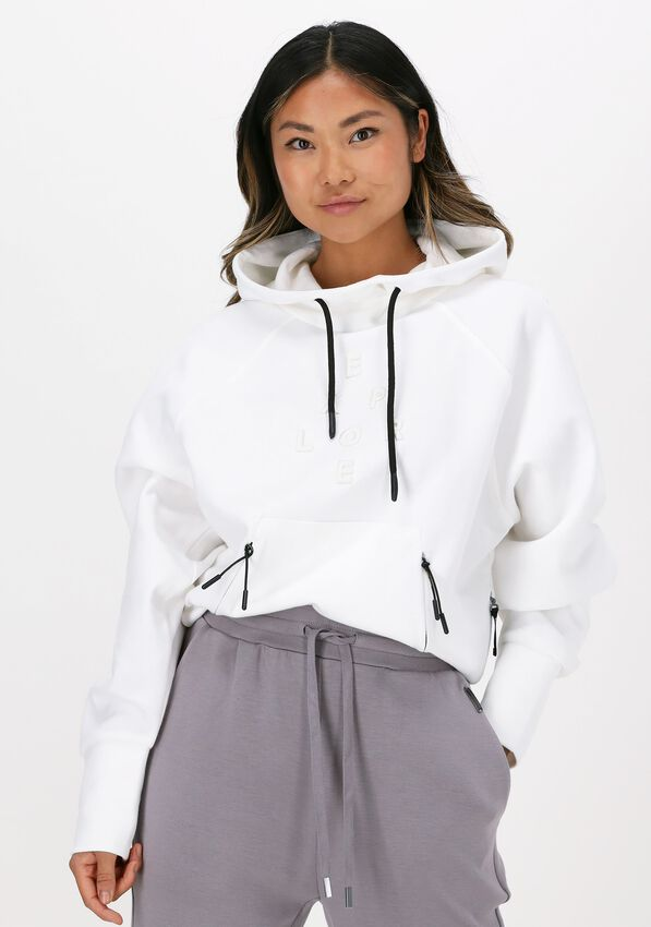 Witte NATIONAL GEOGRAPHIC Sweater CROPPED HOODY  - larger