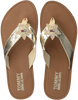 Gouden TOMMY HILFIGER Slippers GLITTER BEACH SANDAL - small