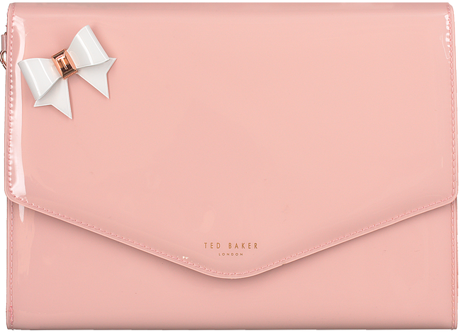 Roze TED BAKER Clutch ESTHER  - large