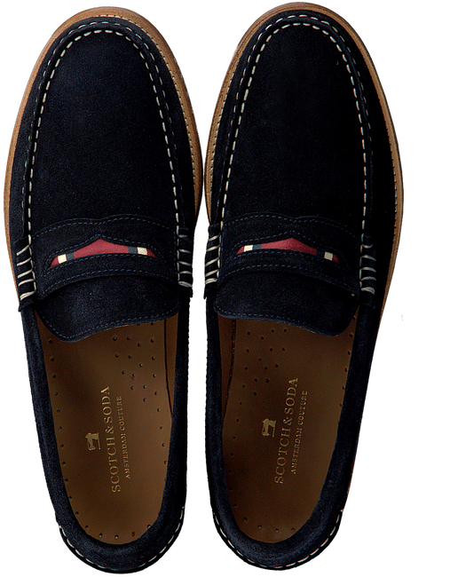 Blauwe SCOTCH & SODA Loafers REUS  - large