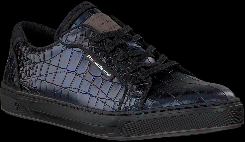 Blauwe FLORIS VAN BOMMEL Sneakers 13214   Omoda