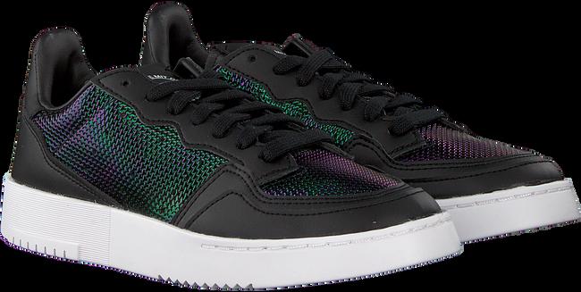 Zwarte ADIDAS Lage sneakers SUPERCOURT W  - large