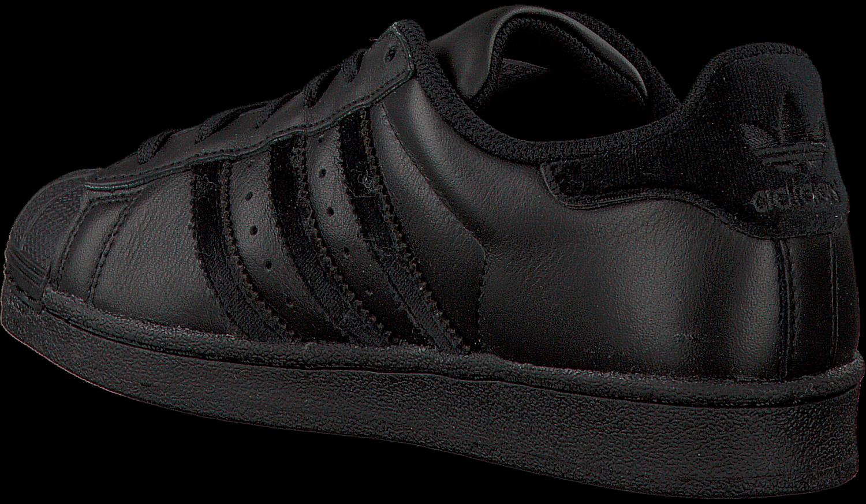 Zwarte ADIDAS Sneakers SUPERSTAR J Omoda.nl