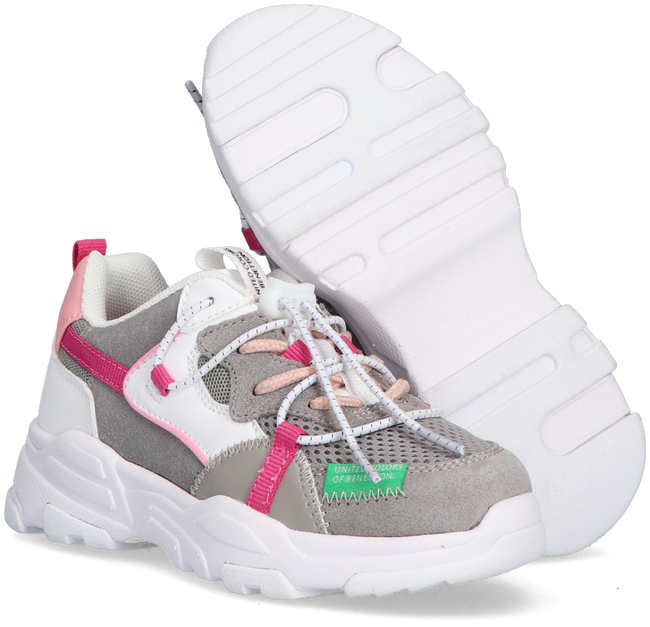 Witte BENETTON Lage sneakers LAYERS  - large