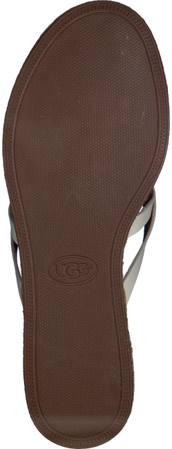 Witte UGG Slippers ANNICE  - large
