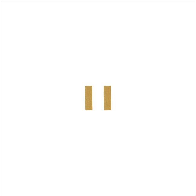 Gouden ATLITW STUDIO Oorbellen PETITE EARRINGS MINUS - large