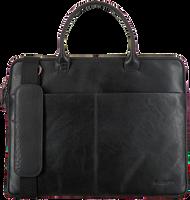 Zwarte MAZZELTOV Laptoptas XANDER-01 - medium