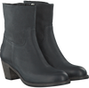 Zwarte SHABBIES Enkellaarsjes 250108  - small