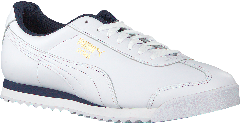 Witte PUMA Sneakers PUMA ROMA CLASSIC LEATHER   Omoda