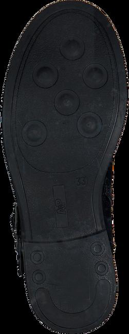 Zwarte APPLES & PEARS Enkellaarsjes B008518 - large