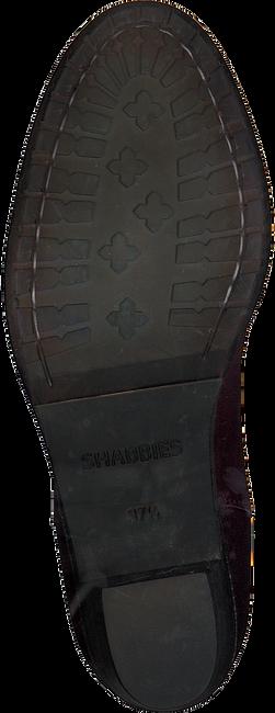 Rode SHABBIES Enkellaarsjes 182020094 - large