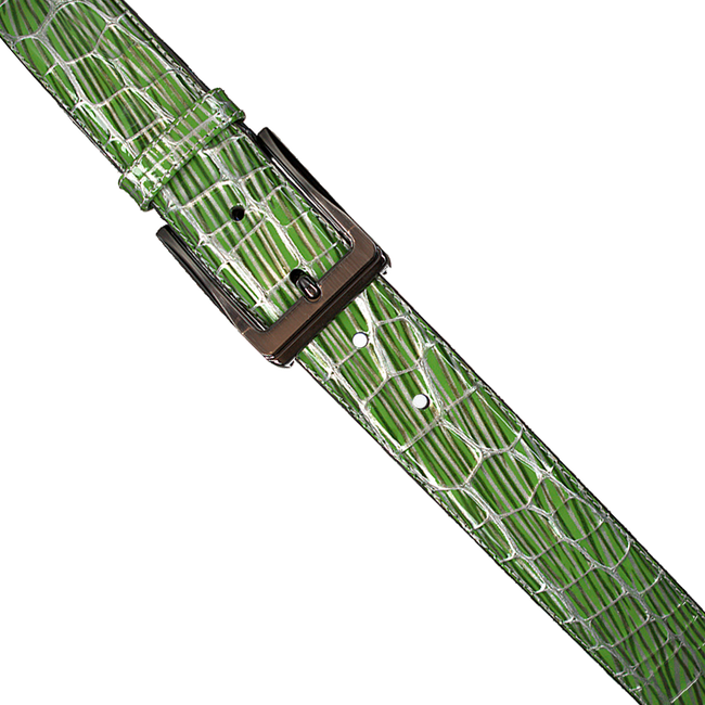 Groene FLORIS VAN BOMMEL Riem 75182 - large