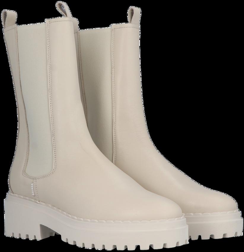 Witte NUBIKK Chelsea boots FAE ADAMS  - larger