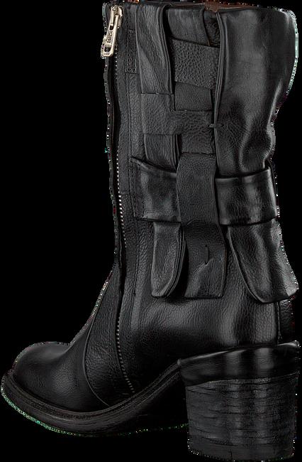 Zwarte A.S.98 Enkellaarsjes A24207  - large