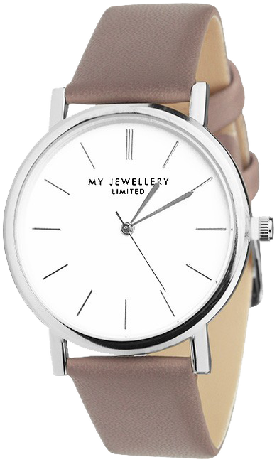 Taupe MY JEWELLERY Horloge MY JEWELLERY LIMITED WATCH - large
