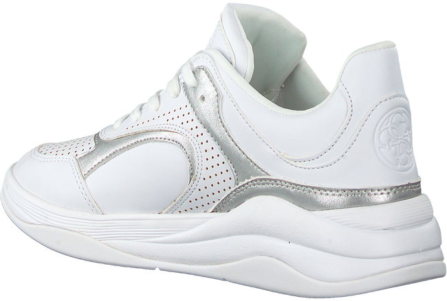 Witte GUESS Lage sneakers SAUCEY  - large