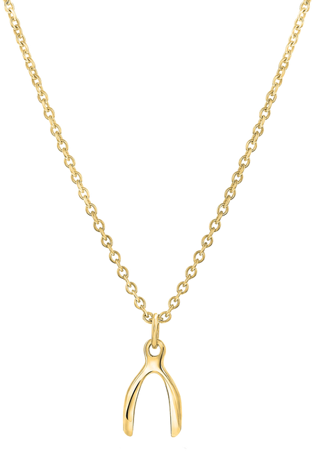 Gouden JEWELLERY BY SOPHIE Ketting MAKE A WISH - large