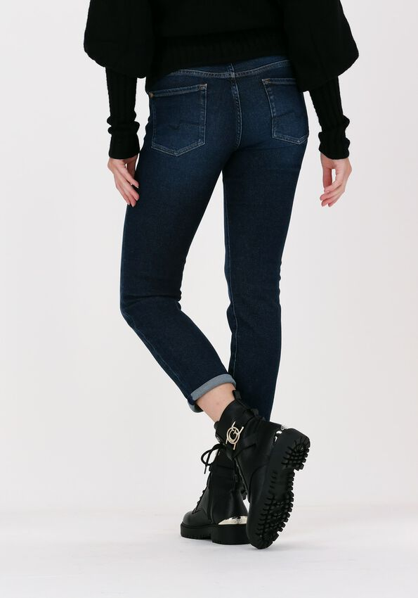 Blauwe 7 FOR ALL MANKIND Slim fit jeans ROXANNE ANKLE - larger