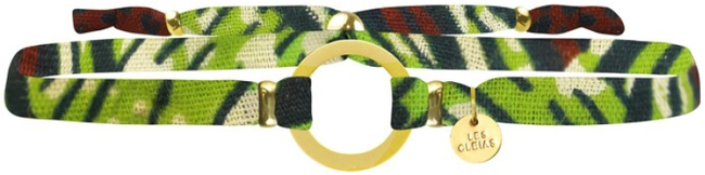 Groene MY JEWELLERY Armband AFRICA BRACELET - large
